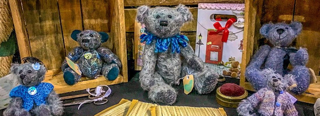 Authentic handmade teddybears from the Netherlands by Gerda de Vries